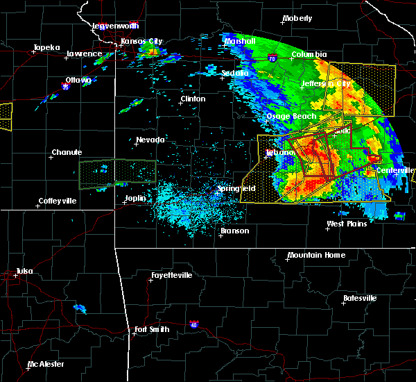 Radar Image for Severe Thunderstorms near St. Robert, MO at 5/27/2017 3:54 PM CDT
