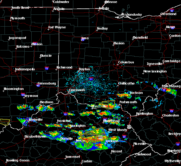 Radar Image for Severe Thunderstorms near Otway, OH at 5/27/2017 4:58 PM EDT