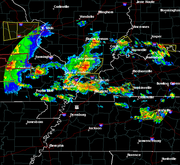 Radar Image for Severe Thunderstorms near Goreville, IL at 5/27/2017 4:20 PM CDT
