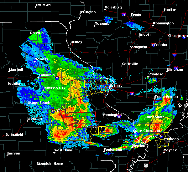 Radar Image for Severe Thunderstorms near St. James, MO at 5/27/2017 4:21 PM CDT