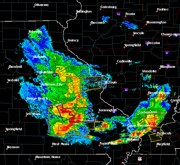 Radar Image for Severe Thunderstorms near Des Arc, MO at 5/27/2017 4:23 PM CDT