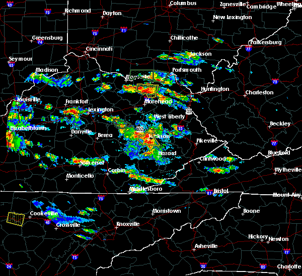 Radar Image for Severe Thunderstorms near Jackson, KY at 5/27/2017 5:30 PM EDT
