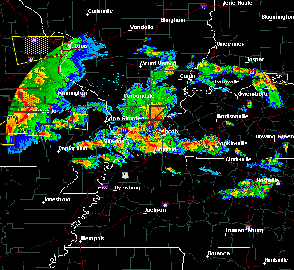 Radar Image for Severe Thunderstorms near Eddyville, IL at 5/27/2017 4:33 PM CDT
