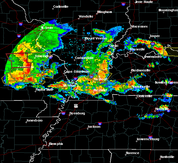 Radar Image for Severe Thunderstorms near Greenville, MO at 5/27/2017 4:54 PM CDT