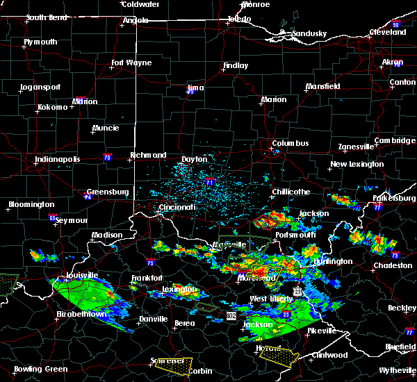 Radar Image for Severe Thunderstorms near Piketon, OH at 5/27/2017 6:17 PM EDT
