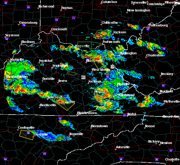 Radar Image for Severe Thunderstorms near Sandy Hook, KY at 5/27/2017 6:31 PM EDT