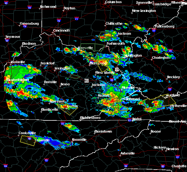 Radar Image for Severe Thunderstorms near Jenkins, KY at 5/27/2017 6:37 PM EDT