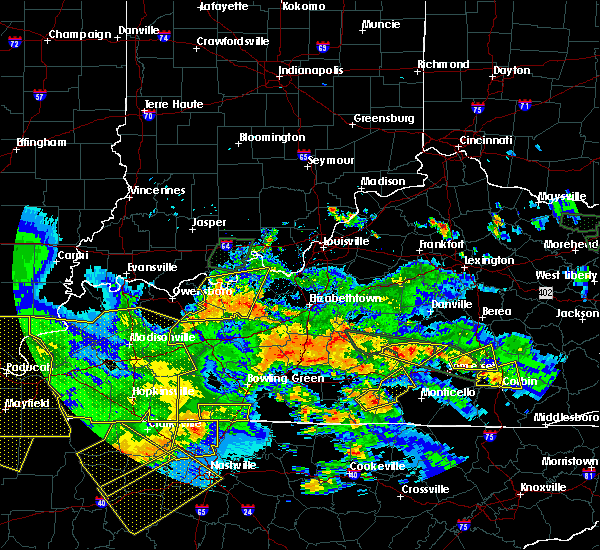 Radar Image for Severe Thunderstorms near Liberty, KY at 5/27/2017 7:47 PM EDT
