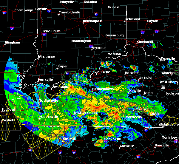 Radar Image for Severe Thunderstorms near Liberty, KY at 5/27/2017 8:00 PM EDT