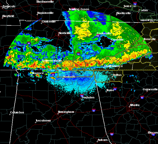 Radar Image for Severe Thunderstorms near Hytop, AL at 5/27/2017 10:00 PM CDT