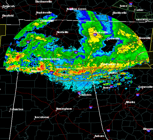 Radar Image for Severe Thunderstorms near Hytop, AL at 5/27/2017 10:29 PM CDT
