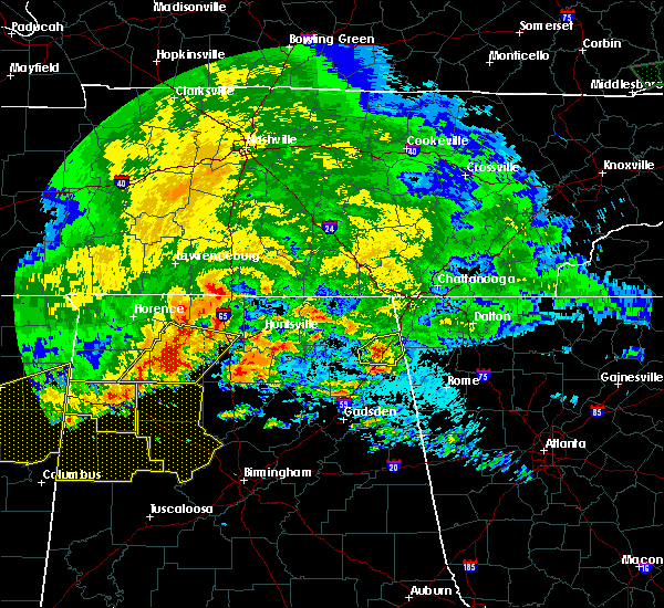 Radar Image for Severe Thunderstorms near Valley Head, AL at 5/28/2017 1:35 AM CDT