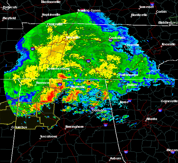 Radar Image for Severe Thunderstorms near Valley Head, AL at 5/28/2017 1:44 AM CDT