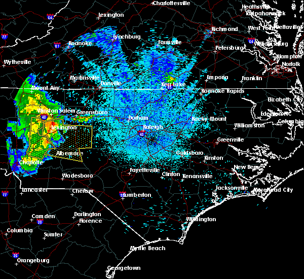 Radar Image for Severe Thunderstorms near Advance, NC at 5/28/2017 3:10 AM EDT