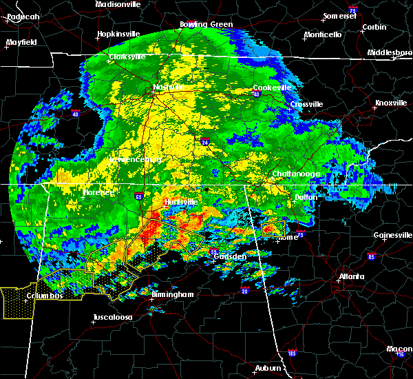 Radar Image for Severe Thunderstorms near Hartselle, AL at 5/28/2017 2:20 AM CDT