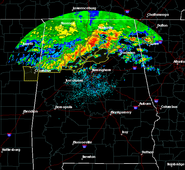 Radar Image for Severe Thunderstorms near Cleveland, AL at 5/28/2017 2:26 AM CDT