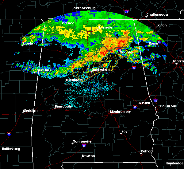 Radar Image for Severe Thunderstorms near Cleveland, AL at 5/28/2017 2:57 AM CDT