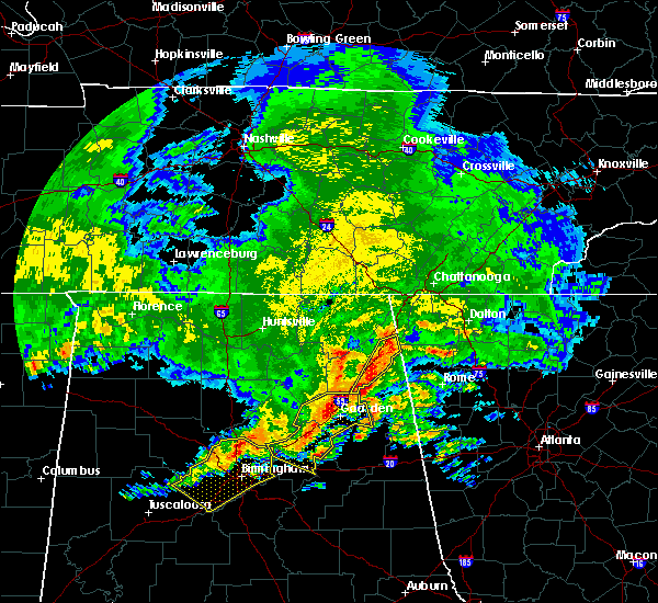 Radar Image for Severe Thunderstorms near Valley Head, AL at 5/28/2017 3:18 AM CDT