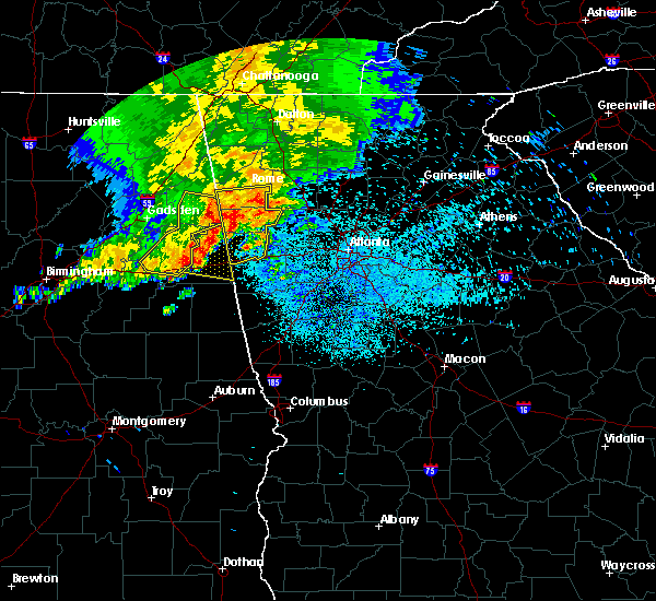 Radar Image for Severe Thunderstorms near Bremen, GA at 5/28/2017 5:01 AM EDT