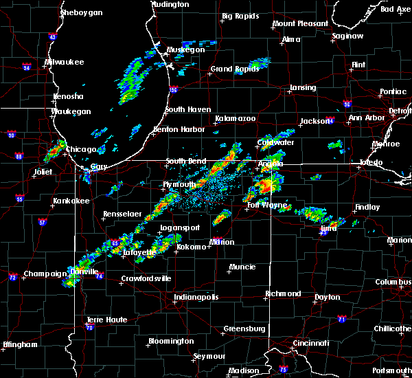 Radar Image for Severe Thunderstorms near Ney, OH at 5/28/2017 2:32 PM EDT
