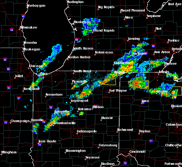 Radar Image for Severe Thunderstorms near Napoleon, OH at 5/28/2017 3:42 PM EDT