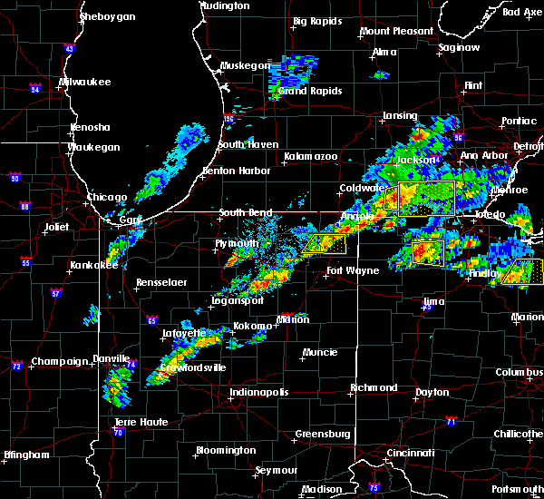 Radar Image for Severe Thunderstorms near Napoleon, OH at 5/28/2017 3:57 PM EDT