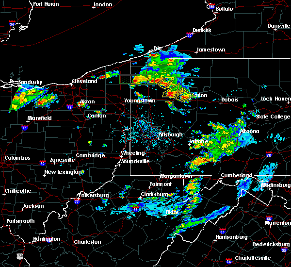 Radar Image for Severe Thunderstorms near Kennerdell, PA at 5/28/2017 4:25 PM EDT