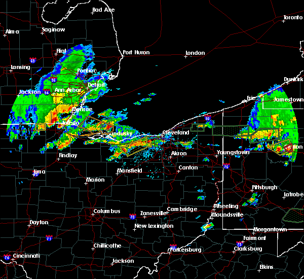 Radar Image for Severe Thunderstorms near Oberlin, OH at 5/28/2017 5:14 PM EDT