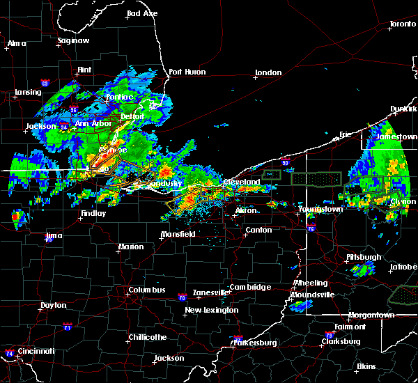 Radar Image for Severe Thunderstorms near Oberlin, OH at 5/28/2017 5:37 PM EDT