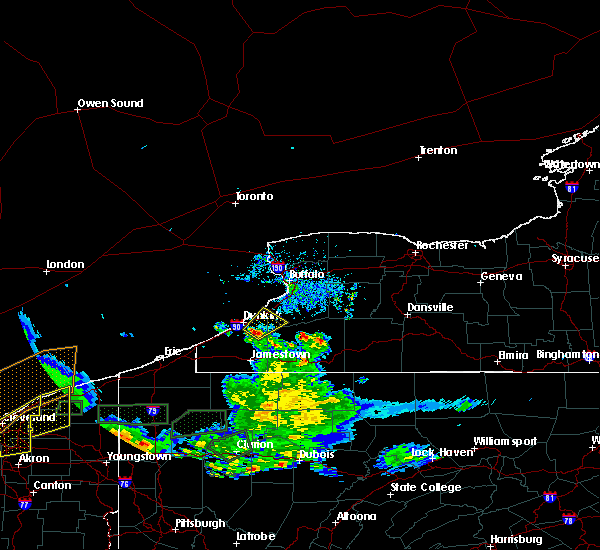 Radar Image for Severe Thunderstorms near Gowanda, NY at 5/28/2017 6:23 PM EDT