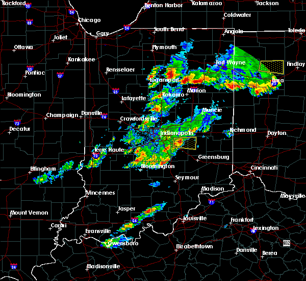 Radar Image for Severe Thunderstorms near Greenfield, IN at 5/28/2017 6:54 PM EDT