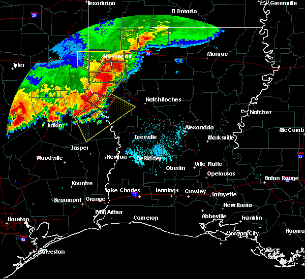 Radar Image for Severe Thunderstorms near Belmont, LA at 5/28/2017 6:44 PM CDT