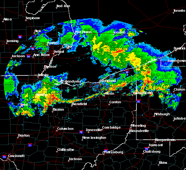 Radar Image for Severe Thunderstorms near Attica, OH at 5/28/2017 8:16 PM EDT