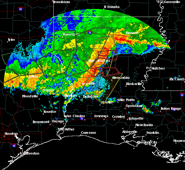 Radar Image for Severe Thunderstorms near Ball, LA at 5/28/2017 8:20 PM CDT