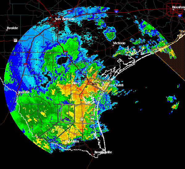 Radar Image for Severe Thunderstorms near Corpus Christi, TX at 5/29/2017 2:23 AM CDT