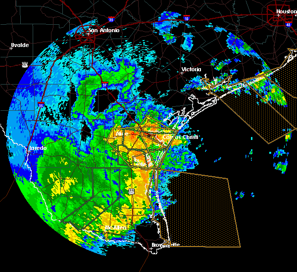 Radar Image for Severe Thunderstorms near Corpus Christi, TX at 5/29/2017 2:47 AM CDT