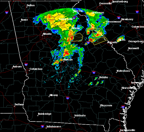 Radar Image for Severe Thunderstorms near Woodville, GA at 5/29/2017 5:34 PM EDT