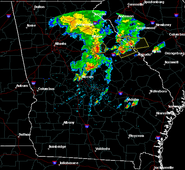 Radar Image for Severe Thunderstorms near Woodville, GA at 5/29/2017 5:46 PM EDT