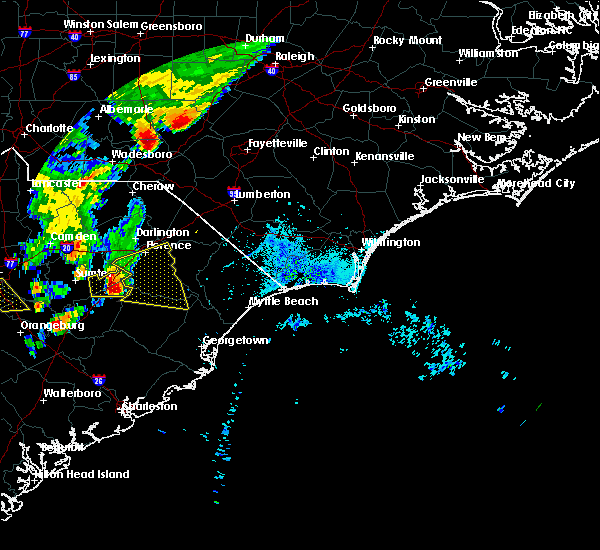 Radar Image for Severe Thunderstorms near Quinby, SC at 5/29/2017 8:57 PM EDT