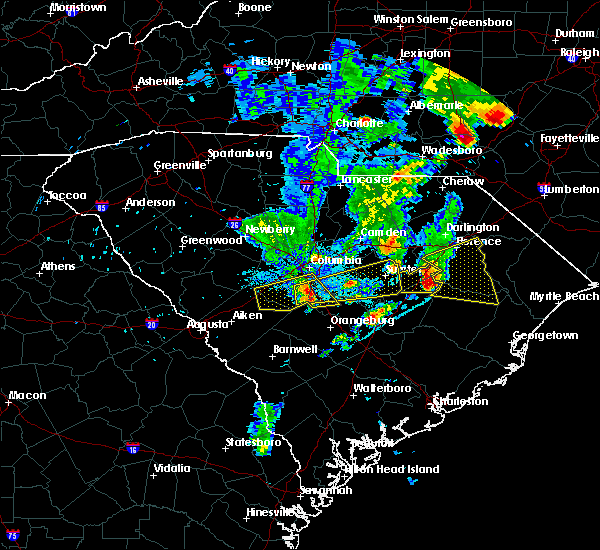 Radar Image for Severe Thunderstorms near Oswego, SC at 5/29/2017 9:00 PM EDT