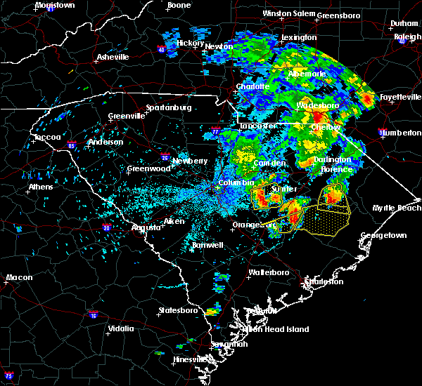 Radar Image for Severe Thunderstorms near Oswego, SC at 5/29/2017 9:42 PM EDT