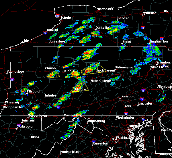 Radar Image for Severe Thunderstorms near Hawthorn, PA at 5/30/2017 12:42 PM EDT