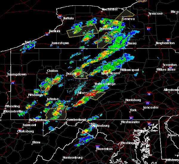 Radar Image for Severe Thunderstorms near Force, PA at 5/30/2017 1:50 PM EDT