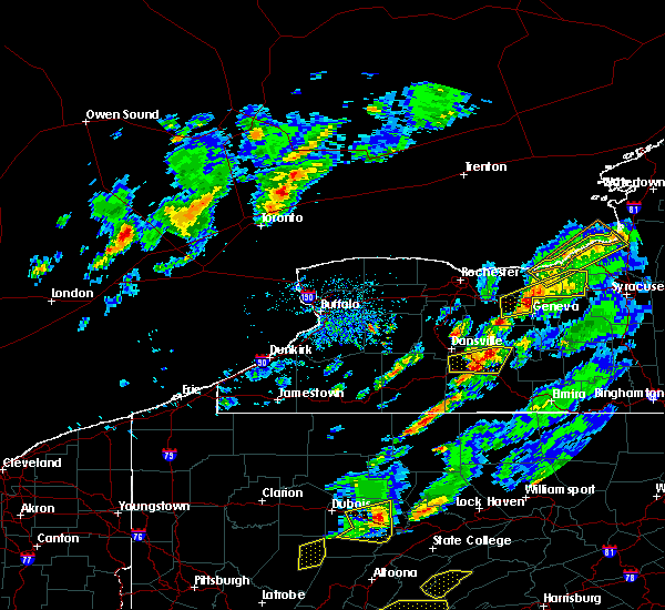Radar Image for Severe Thunderstorms near Arkport, NY at 5/30/2017 2:40 PM EDT