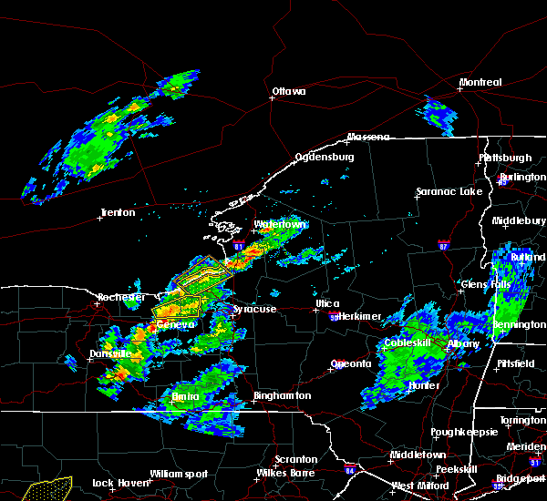 Radar Image for Severe Thunderstorms near Clyde, NY at 5/30/2017 2:55 PM EDT