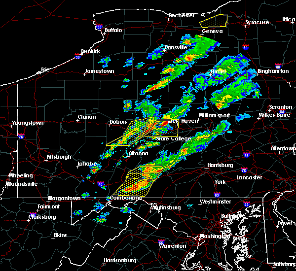 Radar Image for Severe Thunderstorms near Howard, PA at 5/30/2017 3:14 PM EDT