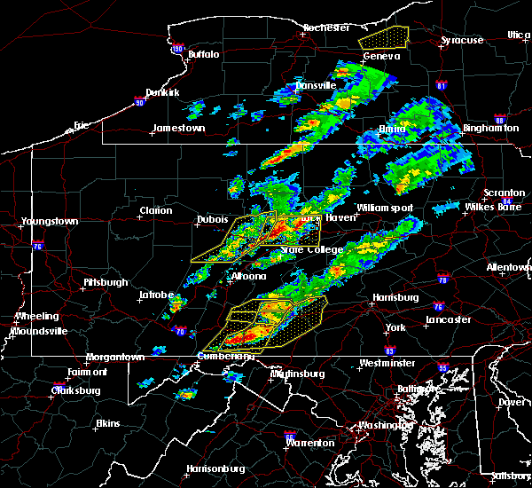 Radar Image for Severe Thunderstorms near Orrstown, PA at 5/30/2017 3:16 PM EDT