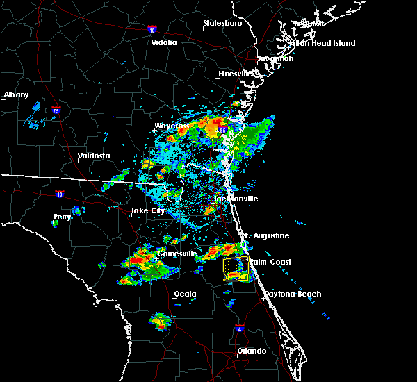 Radar Image for Severe Thunderstorms near Bunnell, FL at 5/30/2017 5:04 PM EDT