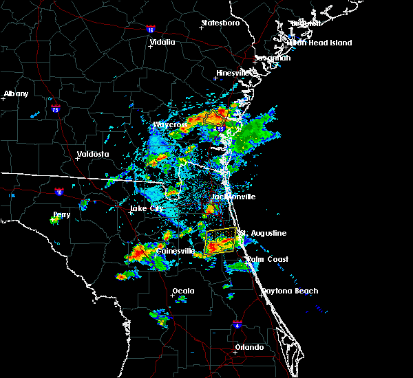 Radar Image for Severe Thunderstorms near Darien, GA at 5/30/2017 5:23 PM EDT