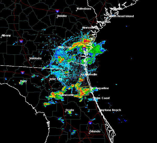 Radar Image for Severe Thunderstorms near Darien, GA at 5/30/2017 5:35 PM EDT